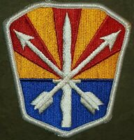 US ARMY: ARIZONA NATIONAL GUARD HQ HEADQUARTERS  COLOR PATCH: VINTAGE MILITARY