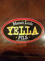 Mama's little Yella Pils, Oskar Blues Brewery, STICKER craft beer brewing