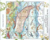 Palau-Inseln 661-685 Zd-Bogen (kompl.Ausg.) postfrisch 1993 Jona und der Wal