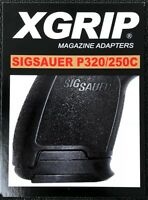 X-Grip For Sig Sauer P320 Full Size Mags for use in P320/P250 Compact Pistols