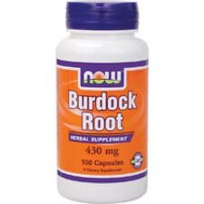 Burdock Root 430mg  100 Caps, Now Foods Fast 1st Class Shipping