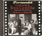 28815//LE PETIT MONDE DE DON CAMILLO FERNANDEL DIALOGUES EXTRAIT DU FILM CD NEUF
