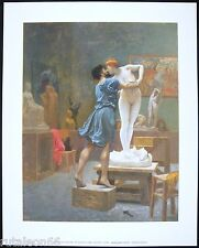 "Litografía JEAN LEON GEROME ""Pygmalion and Galatea"" 24x30cm. Migneco-Smith 32040"