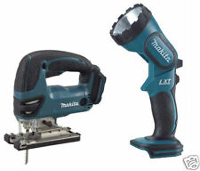 Makita 18v DJV180Z LXT Cordless Jigsaw & DML185Z Torch