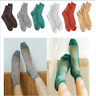 Glitter Ankles Socks Retro Women Girls Spring Summer Shiny Thin Casual Sock Sexy