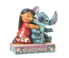 Disney Traditions Ohana Lilo & Stitch Family Ornament Resin Figurine Gift Box