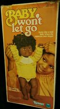 """Vintage Kenner Baby Won't Let Go 16"""" Doll New in Box 1977 Complete w/Instruction"""