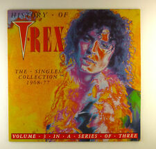 """12"""" LP - T. Rex - History The Singles Collection 1968-77  - A3349"""