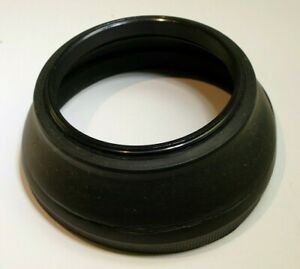 58mm Rubber Lens Hood Shade Collapsible double threaded vintage