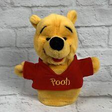 "9"" Disney Winnie the Pooh Hand Puppet Plush Mattel Storytelling Stuffed Animal"