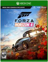 FORZA HORIZON 4 XBOX ONE{read description/no cd}