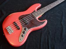 Fender Road Worn 60's Fiesta Red Jazz Bass