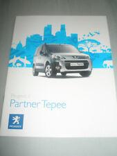 Peugeot Partner Tepee range brochure Jun 2008