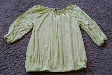 Old Navy Shirt size small S - bright yellow