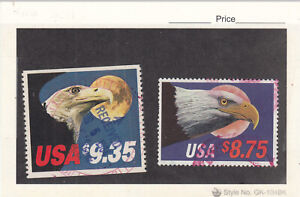 1988 Used Express Mail $8.75 #2394 &1981 Used $9.35 #1909