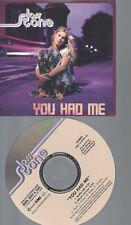 CD--JOSS STONE--YOU HAD ME---PROMO--2 TR