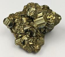 PYRITE CRYSTAL CLUSTER SPECIMEN FOOLS GOLD 216g