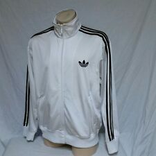 VTG Adidas Track Jacket Trefoil Logo Coat Running ATP Striped Air Olympic Ski XL