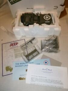 Danbury mint WW2  Willy's Jeep, boxed with accessories, paperwork