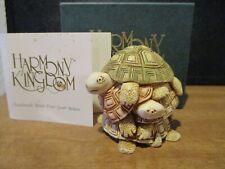 New ListingHarmony Kingdom Shell Game Turtles Uk Made Box Figurine Early Pc Nice Color