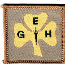 Girl Guide Badge Eclaireuse Guide D`Haiti EGH