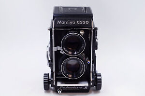 EXC Mamiya C330 S Professional S TLR Film Camera + DS 80mm f2.8 Blue Dot Lens