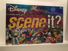 Scene It? Disney 2004 Mattel - The DVD Game - Complete - Cards Are Sealed!