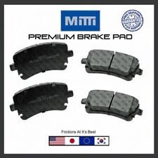 Replacement Rear 4 Disc Brake Pad Premium For Audi Serie Quattro A4, A5, A6, A8