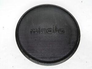 Minolta Vintage Push On Camera Body Cap For MC MD SR Mount SLR (SR-T XD XE XG)