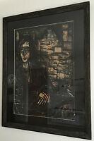 Bernard Buffet Rare Original Oil Painting Hand Signed Dated 1968 Framed