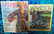 Seventeen MAGAZINE March 1970 Vogue Bazaar Glamour Model W 60's & 70's Teen Ads