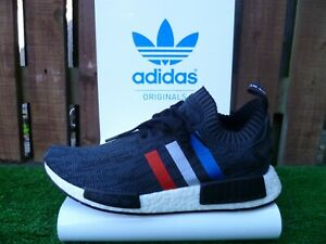 NMD R1_PK UK8.5 BNWT BLACK/RED/WHITE/BLUE 80 s casuals 2016 VERY RARE LOOK