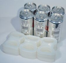 6-PACK PLASTIC BEER SODA LIQUOR CAN RINGS LIQUOR STORE SUPPLY 100 CT