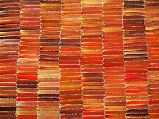 Authentic Aboriginal Art - JEANNIE MILLS - Grasstree Gallery - 94 x 90cm