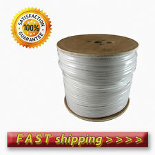Coaxial Cable RG6 - 200m White. For Sky Freesat Freeview Saorview / HQ Single