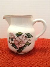Villeroy Boch Palermo Creamer Morning Glory Luxembourg Pink Green Brown