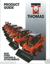 Equipment Brochure - Thomas - Skid Steer Product Line Overview - 1994 (E2350)