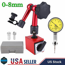 0 08mm Universal High Accuracy Lever Dial Test Indicator Base Holder Stand New