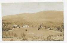 RPPC MT. MONADNOCK NEW HAMPSHIRE THE ARK Real Photo Post Card #4422