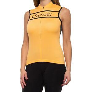 Castelli Promessa Sleeveless Women's Cycling Jersey m medium NWT NEW