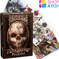 BICYCLE ALCHEMY 1977 ENGLAND PLAYING CARDS DECK GOTHIC FANTASY ART MADE IN USA