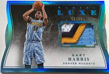 NBA Basketball - GARY HARRIS - Panini Luxe Memorabilia Jersey Card No.9/25