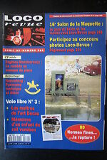 MODELISME FERROVIAIRE TRAIN MAGAZINE LOCO REVUE N° 580 de 1995
