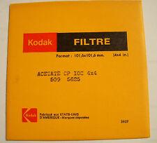 Kodak wratten acetato Filtro no.cp10c 10.2x10.2cm Cuadrado