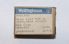 WESTINGHOUSE A4LC300 LC400 300 Amp Adjustable Rating Plug 2608D89G12