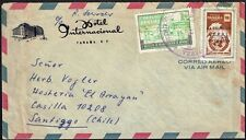 391 PANAMA TO CHILE AIR MAIL COVER 1959 - SANTIAGO