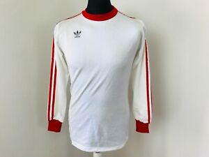 ADIDAS VINTAGE PLAIN 1980'S ERIMA 1980s FOOTBALL SHIRT TREFOIL ADIDAS MEDIUM