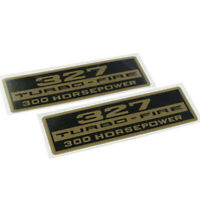 "CHRIS CRAFT 210HP 327 V8 VALVE COVER ENGINE DECAL RETRO 1.5""X14"""