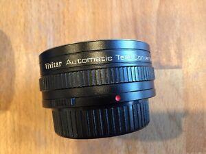 Vivitar Automatic Tele Converter 2x  for Olympus O/OM Lens