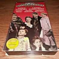 VHS TAPE James Stewart Donna Reed IT'S A WONDERFUL LIFE GoodTimes 1987 Movie